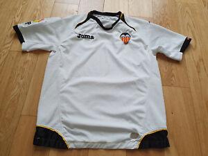 Mens JOMA Valencia Home football shirt 2011 - 2012 Size M