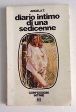 L72> Diario intimo di una Sedicenne - Angela T. - 1973