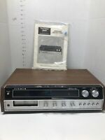 Vintage Fisher 3500 FM/AM Stereo Receiver 8 Track Player Music Center