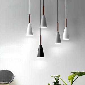 Bar Pendant Light Room Wood Lamp Kitchen Pendant Lighting Modern Ceiling Lights