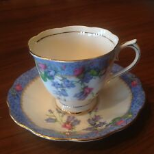 Royal Albert Harebell teacup and saucer made in England