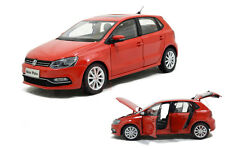 1/18 1:18 Scale VW Volkswagen New Polo 2014 Red Diecast Model Car Paudimodel