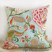 65 x 65cm Home Decor Vintage Retro Jacobean Floral Cotton Cushion Cover European