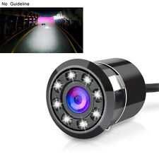 8LEDs Car 170º HD Rear View Reverse Backup Parking Camera Kits Night Vision Hot