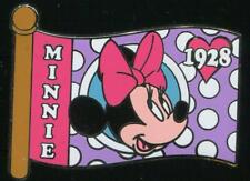 Minnie Mouse Mystery Character Flags LE Disney Pin 69835