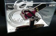 New Nail-21 Nail Polish Bottle Holder Grip & Tilt white color