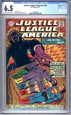 Justice League Of America #59 - CGC Graded 6.5 (FN+) 1967- Silver Age