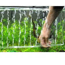 Bubble Wall Tube Air Stone Air Oxygen Aeration Pump Curtain Aquarium Fish Tank S
