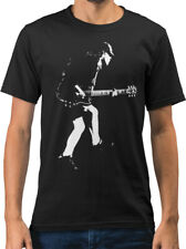 Angus Young Rock Icon Caricature New Mens T-shirt