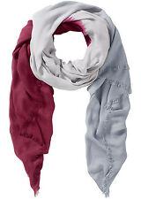 Schal Tuch Halstuch rot weiß schwarz 816 schwarz weiß 663 grau ahornrot 293 neu