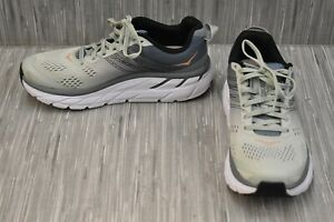 Hoka One One Clifton 6 1102873 Running Shoes, Women's Size 6.5, Grey/Multi