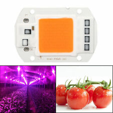 50W 220V Full Spectrum Led COB Chip Grow Light Lamp Garden Hydroponic Plant