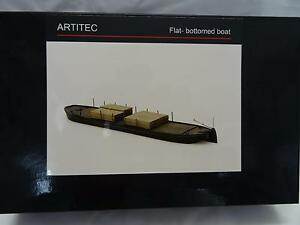 * Artitec 50102 Flat Bottomed Boat - Kit made of Resin & Metal Parts 1:87 Scale