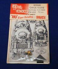 Brass Boiler Check Valve / CV-251 / HO Scale Detail Parts / Cal Scale