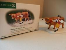 Department 56 - (New) Leading the Bavarian Cow #56.56214 - Free Shipping