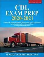 CDL Exam Prep 2020-2021: A CDL Study Guide with 425 Test Questions PAPERBACK