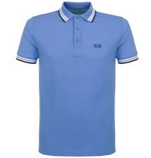 Hugo Boss Paddy Polo Shirt in Summer Blue, BNWT, RRP £75