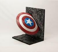 Captain America Shield Book Ends Avengers Endgame Marvel 3D printed