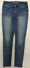 American Eagle Outfitters Womens Juniors Jeans Skinny Jeggings  28x29 Size 6