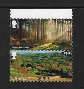 2019 GB.- Forestry Commission - Vertical - Unmounted Mint.