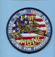 NORTHROP F-5 F-5E TIGER USAF TFS FS Foreign Fighter Squadron Jacket Patch