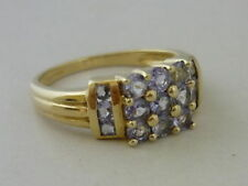 Gems TV Tanzanite Yellow Gold Fine Jewellery