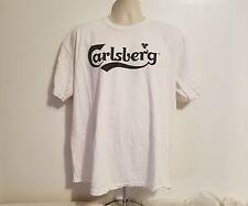 Carlsberg Beer UEFA Euro 2012 Poland Ukraine Adult White XL TShirt