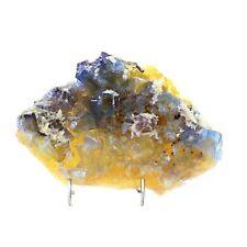 Fluorite + Calcite. 2610.2 ct. Rosiclare Level, Minerva Mine, Illinois, USA
