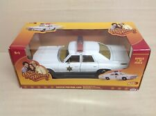 Dukes Of Hazzard Dodge Monaco Rosco P Coltrane Patrol Car Johnny Lightning 1:18