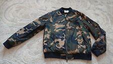 Topman Camouflage bomber jacket mens size XXL *vgc* 2XL
