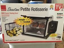 RONCO ShowTime PETITE ROTISSERIE New In Open Box Space Saver