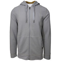 prAna Men's Silver Barringer Full-Zip Hoodie  (Retail $90)