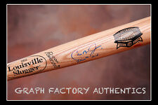 GFA Orioles Star 3,000 Hit  * CAL RIPKEN JR. *  Signed Metrodome Bat  PROOF COA