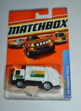 2010 MATCHBOX CITY ACTION '08 GARBAGE TRUCK WHITE 66/100