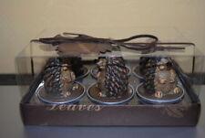Deko-Kerzen & -Teelichter aus Paraffin mit Natur-Motiv