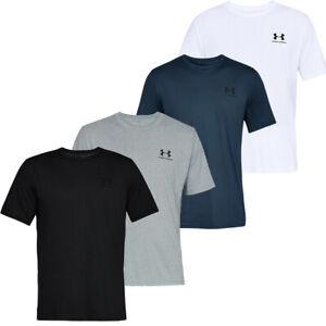 Mens Under Armour Short Sleeve Tee Shirt TShirt Sportstyle T-Shirt Tops Cotton