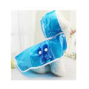 Pet Dog Raincoat Hooded Puppy Rain Coat Waterproof Jacket for Dogs Soft Clothes