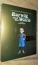 EARWIG and the WITCH Limited Edition SteelBook (Blu-Ray + DVD) NEW FS