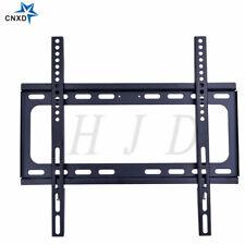 "New Fixed Slim TV Wall Mount Bracket For 25-55"" Inch Flat Screens LED LCD PLASMA"