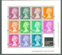 Great Britain-2010-Festival of Stamps Jeffery Matthews Colour Palette-mnh sheet