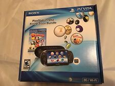 BRAND NEW + SEALED Sony PlayStation PS Vita First Edition Bundle PCH1101 22056