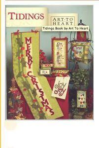 Tidings Quilt Book Christmas W Sheep Nancy Halvorsen Art To Heart Nativity PICS