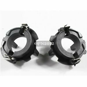 2x For VX 100% AUTO MK5 H7 HID Conversion Bulbs Holder Headlight Base Adapter