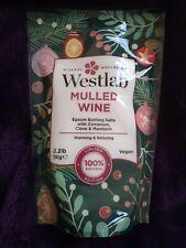 Westlab Mulled Wine Epsom Bathing Salts 1kg Warming and Relaxing 100% Vegan