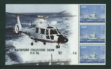 1996  DX171 WATERFORD  EXHIBITION  HELICOPTERS  BOOKLET PANE - SCARCE