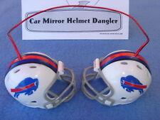 BUFFALO BILLS CAR MIRROR NFL FOOTBALL HELMET DANGLER - HANG FROM ANYTHING!