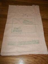 "21"" x 14"" Vintage Used Dekalb Agricutural Seed Corn Sack"