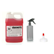 Chemical Guys CLD_680 - Glassworkz Glass Cleaner 1 Gal + 32 oz Sprayer + Spout