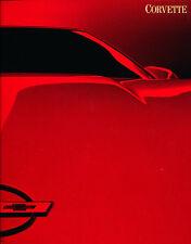1988 Chevrolet Corvette 30-page VG-Condition Dealer Sales Brochure