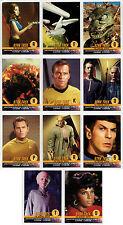 Star Trek Original Series Season 1 autograph challenge card set of 11 auto TOS